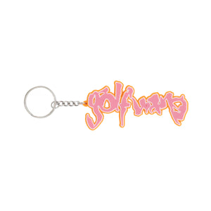 SAFARI KEYCHAIN by GOLF WANG | Pink