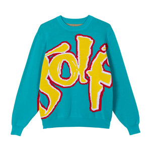 SAFARI SWEATER by GOLF WANG | Blue