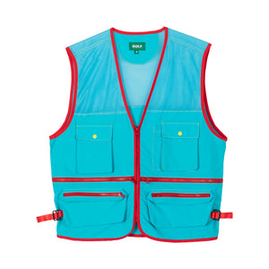 SAFARI VEST by GOLF WANG | Blue