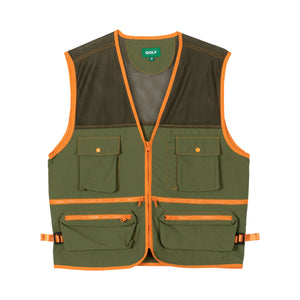 SAFARI VEST by GOLF WANG | Military Green