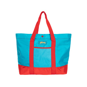 SAFARI ZIP TOTE BAG by GOLF WANG | Blue