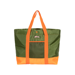 SAFARI ZIP TOTE BAG by GOLF WANG | Military Green