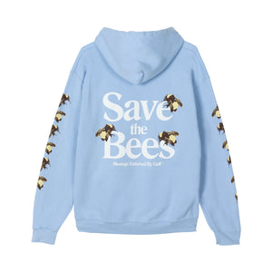 SAVE THE BEES HOODIE by GOLF WANG | Light Blue