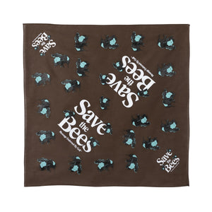 SAVE THE BEES BANDANA by GOLF WANG | Brown