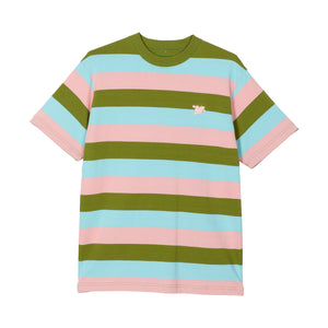 CUPID STRIPED TEE by GOLF WANG | Pink