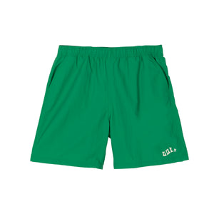 WAVES NYLON SHORTS by GOLF WANG | Green