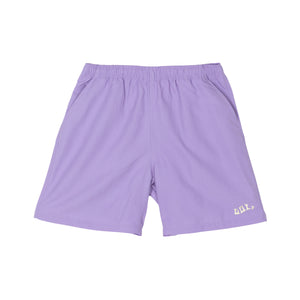 WAVES NYLON SHORTS by GOLF WANG | Lavender