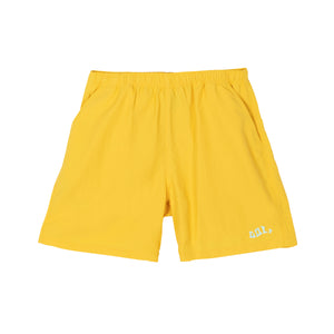 WAVES NYLON SHORTS by GOLF WANG | Yellow