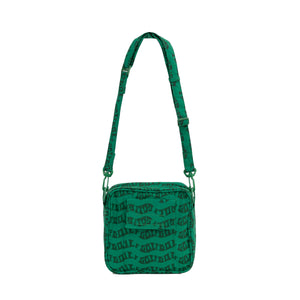WAVE SHOULDER BAG by GOLF WANG | Green