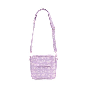 WAVE SHOULDER BAG by GOLF WANG | Lavender