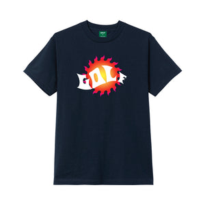 WAVES TEE by GOLF WANG | Navy