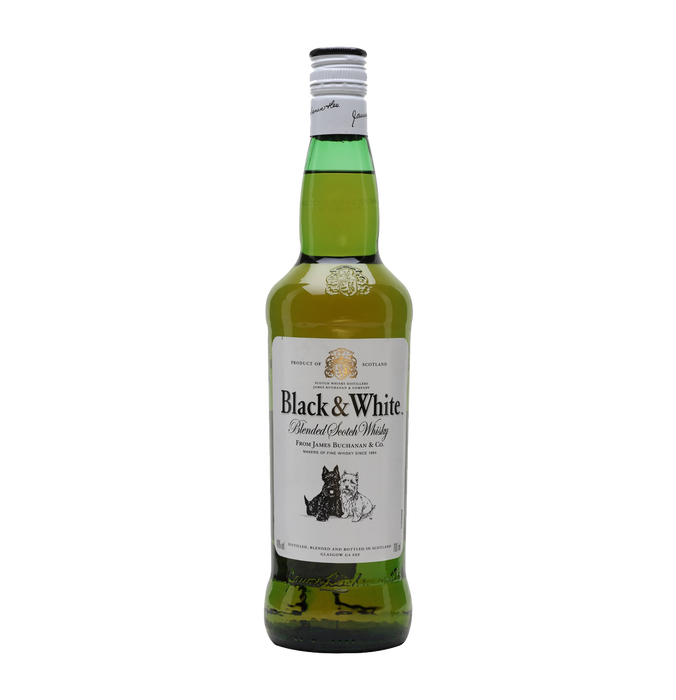 Black & White Whisky 750ml