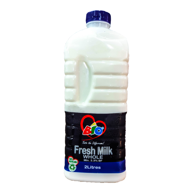 Bio Whole Fresh Milk 2ltrs