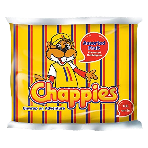 Chappies Assorted Fruit Gum 400g