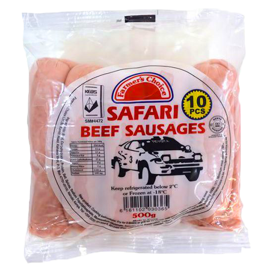 FC Beef Sausages Safari 500g
