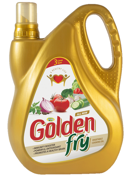 Golden Fry Cooking Oil 3ltrs