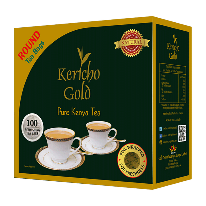 Kericho Gold Round Tea Bag 100s 200g