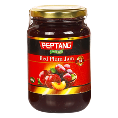 Peptang Red Plum Jam 500g PET