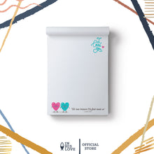 "Load image into Gallery viewer, ""I Love You"" Waterproof Notepad"