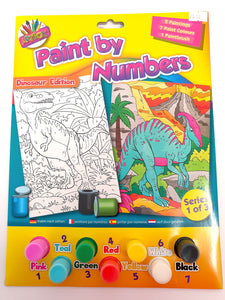Dinosaur Paint By Numbers