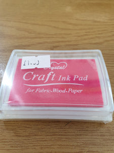 Bright Pink Craft Ink Pad