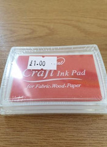Orange Craft Ink Pad
