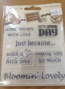 Sentiments Silicone Stamps
