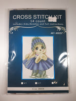 Load image into Gallery viewer, Doll Cross Stitch Kit