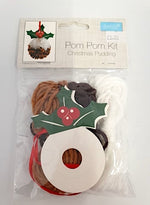 Load image into Gallery viewer, Christmas Pudding Pop Pom Kit