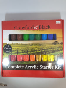 Crawford & Black Complete Acrylic Starter Kit