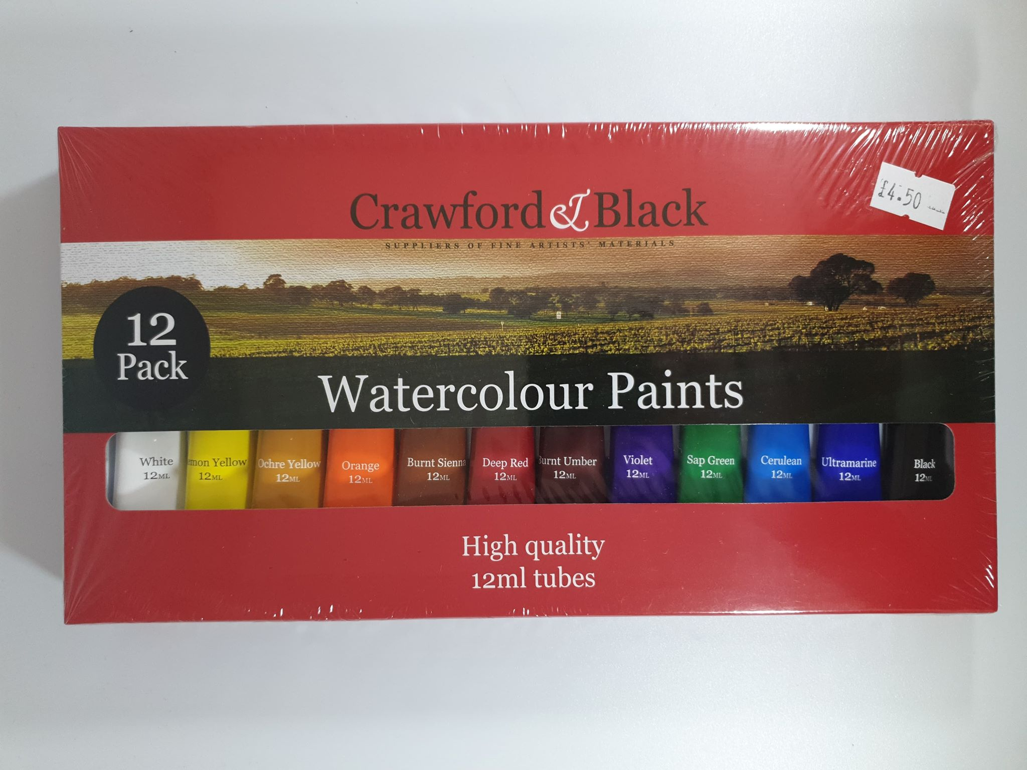 Crawford & Black Watercolour Paints