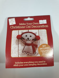 Make Your Own Christmas Cat Decoration