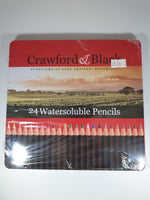 Load image into Gallery viewer, Crawford & Black Watersoluble Pencils