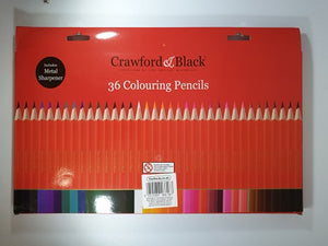 Crawford & Black Colouring Pencils