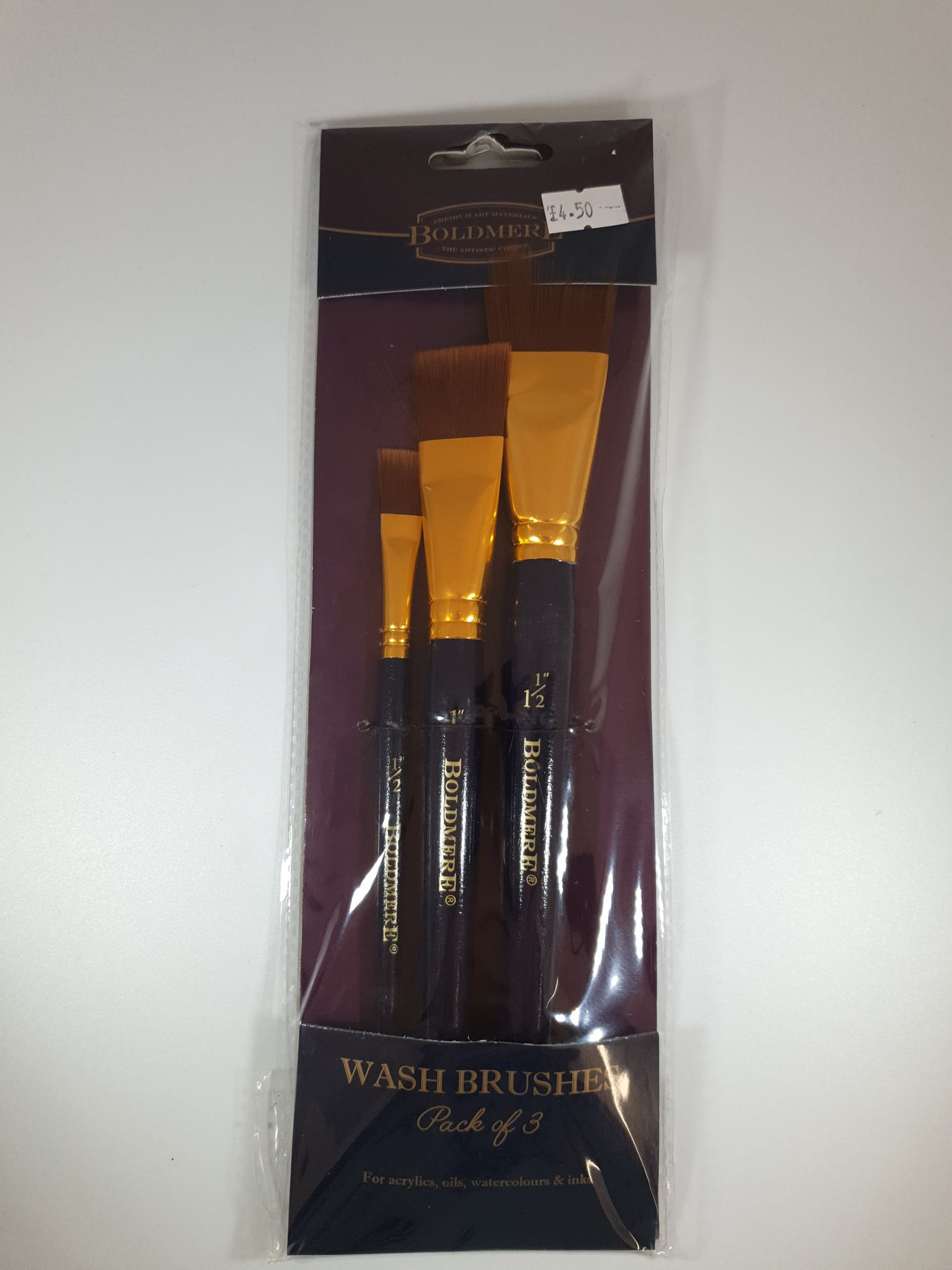 Boldmere Wash Brushes