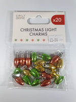 Load image into Gallery viewer, Christmas Light Charms