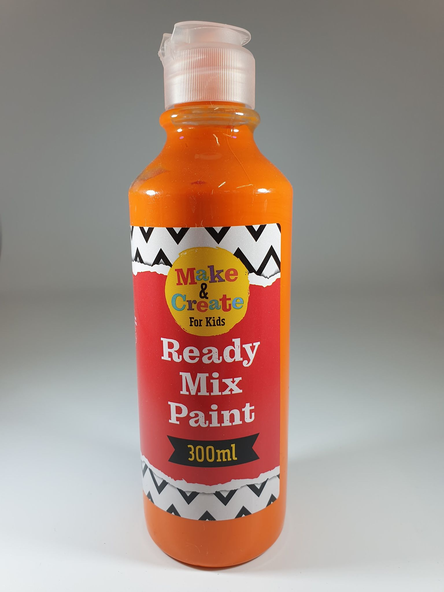 Orange Ready Mixed Paint