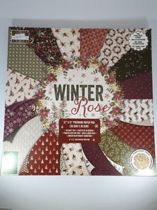 Winter Rose paper Pad