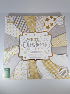 White Christmas Paper Pad