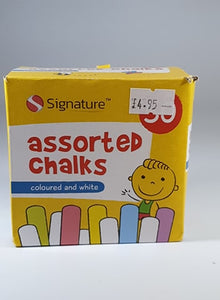 Assorted Coloured Chalks