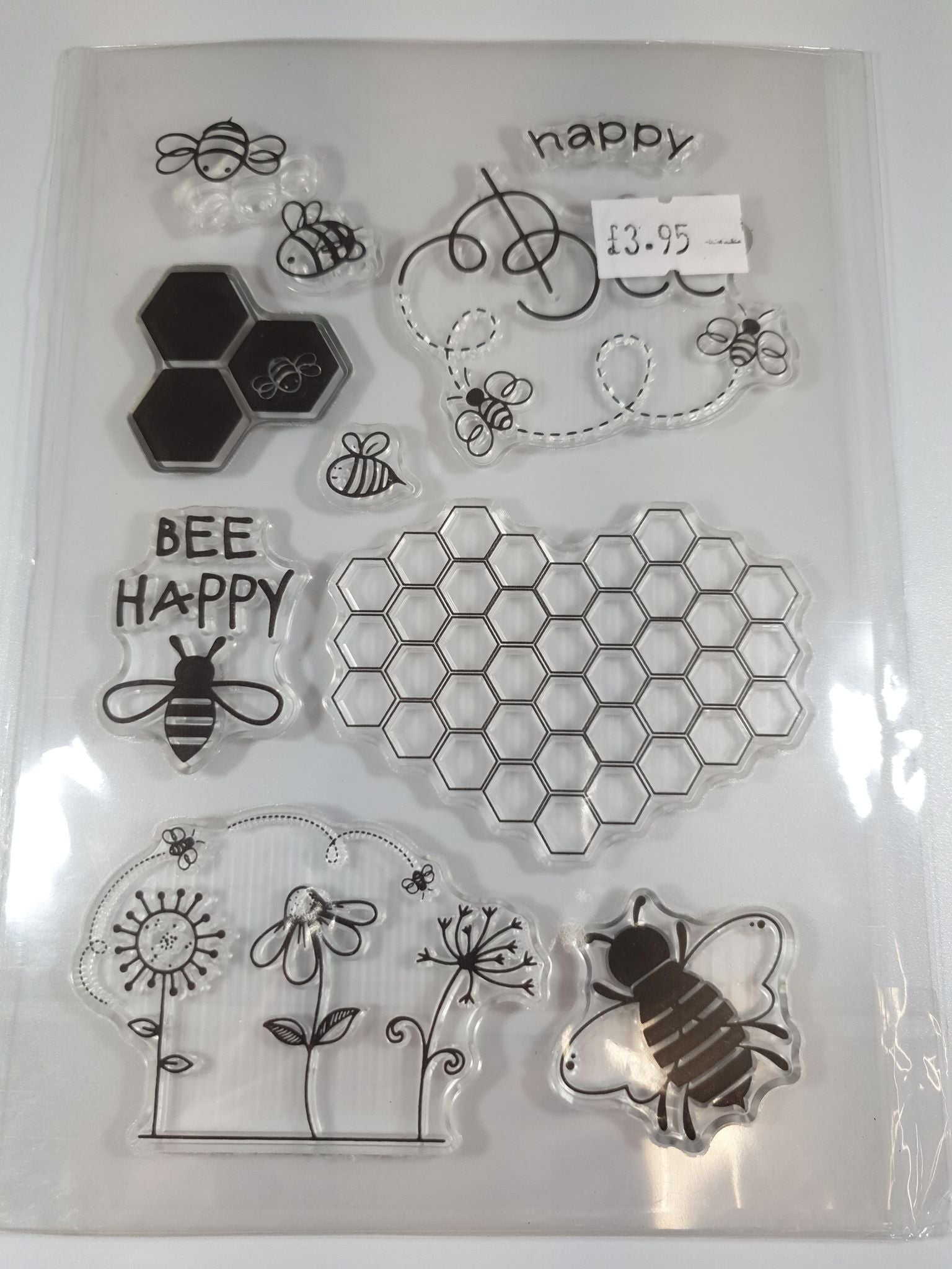 """Bee Themed"" Silicone Stamps"