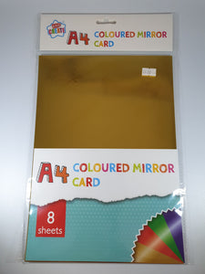 Coloured Mirror Card