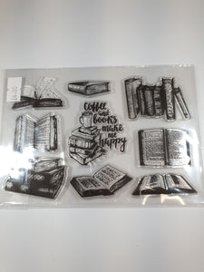 """Books Themed"" Silicone Stamps"