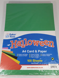 Halloween Card & Paper Packs