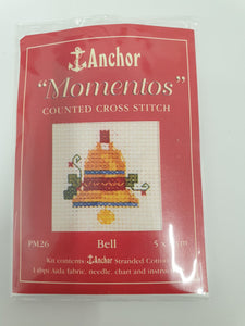 Bell Mini Cross Stitch