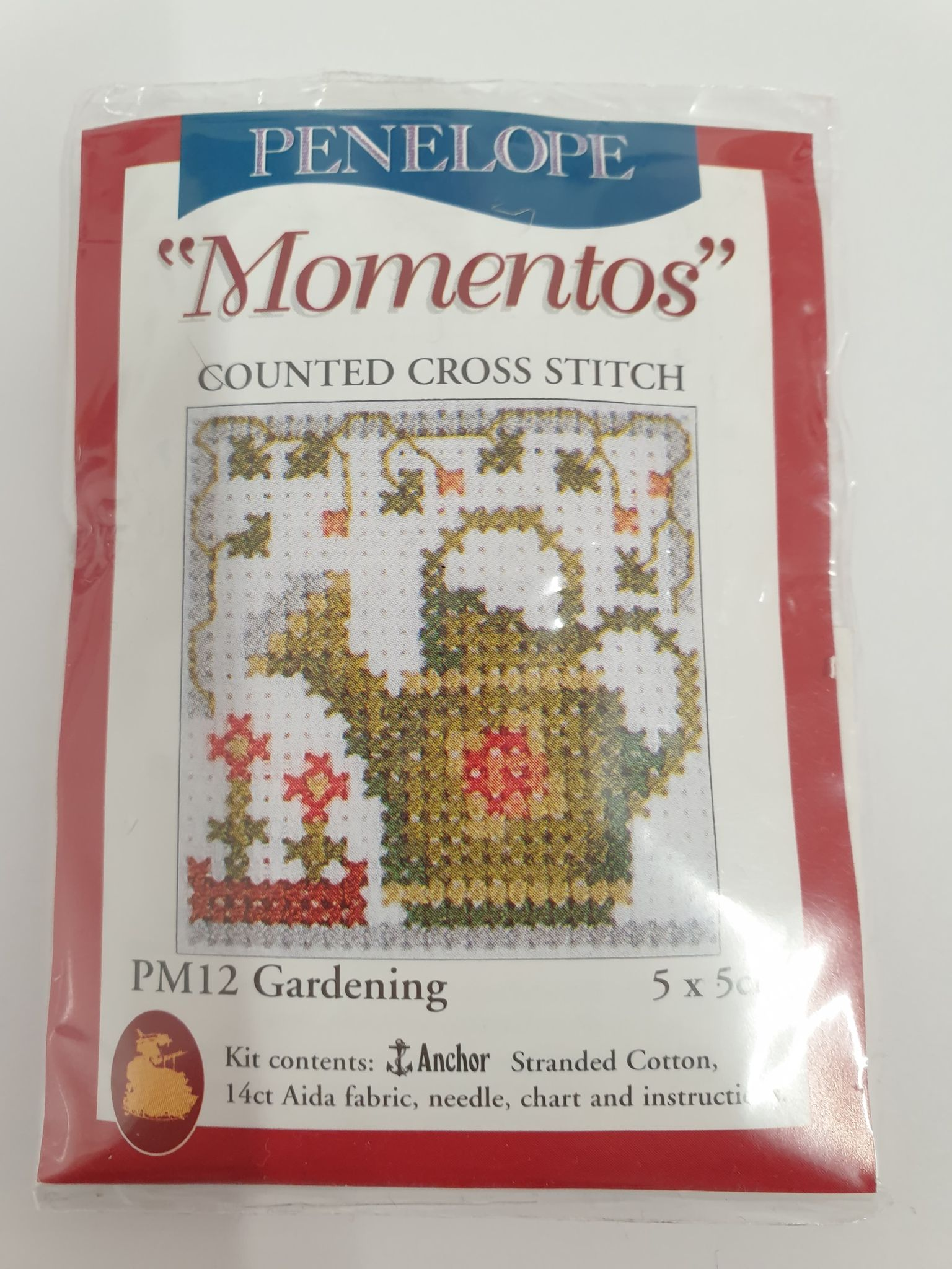 Gardening Mini Cross Stitch