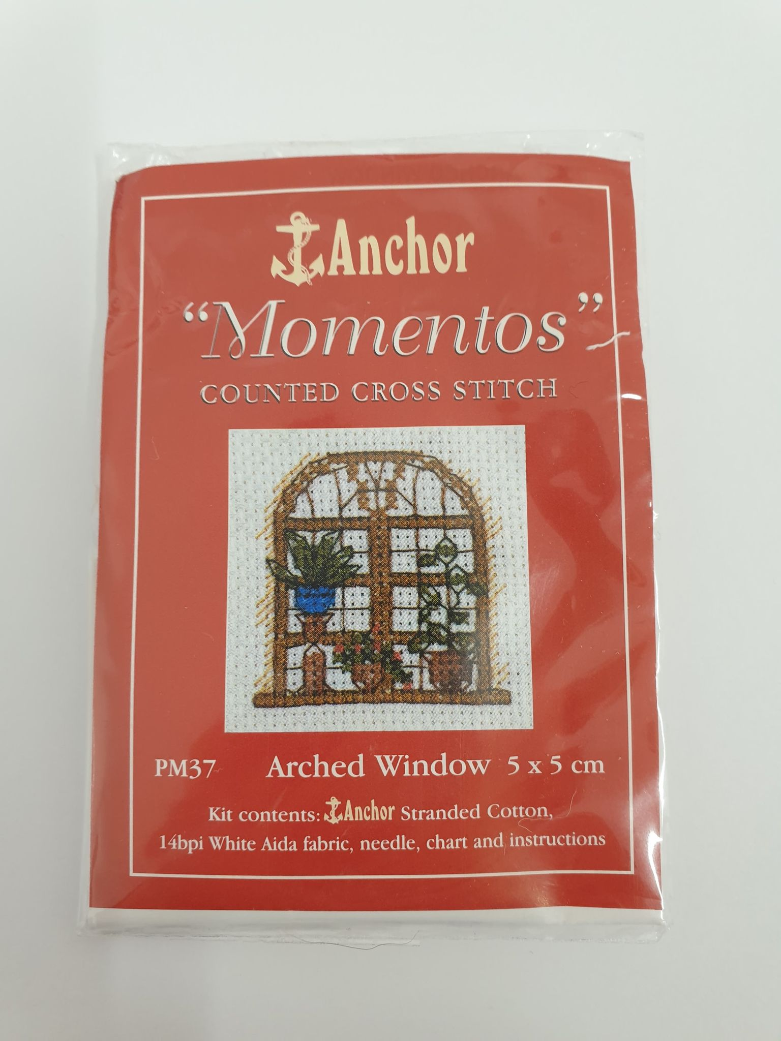 Arched Window Mini Cross Stitch