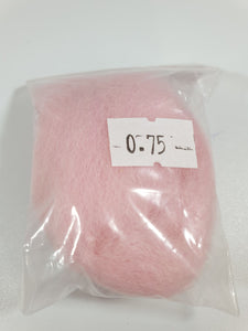 Hint of Pink Felting Wool