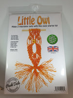 Load image into Gallery viewer, Little Owl Macrame Starter Kit