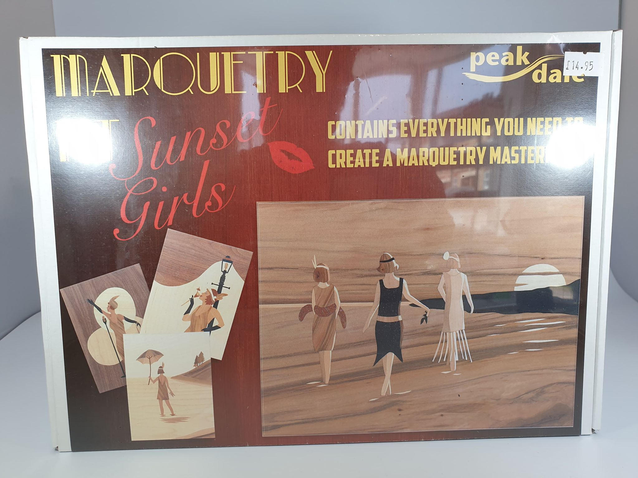 Marquetry Kit - Sunset Girls